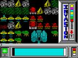 Invasion ZX Spectrum Our forces