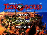 Saban's Iznogoud PlayStation Main Menu.