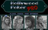 Hollywood Poker Pro Atari ST Choosing opponent