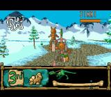 BC Racers SEGA CD Round 6: Snow