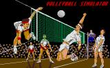 Volleyball Simulator Atari ST Title screen