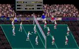 Volleyball Simulator Atari ST Ingame