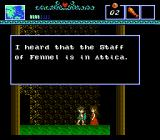 The Battle of Olympus NES Another dialogue
