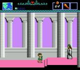 The Battle of Olympus NES In temple