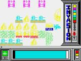 Invasion ZX Spectrum White background - and enemy charge