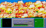 Skyblaster Atari ST Outch! They hit me. Quite a big explosion ...