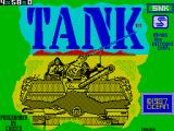 Tank ZX Spectrum Title screen