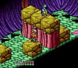 Equinox SNES Unable to jump this gap, our hero wishes that he could push the blocks or jump higher