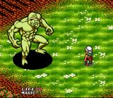 Equinox SNES Fighting a monster on the overworld