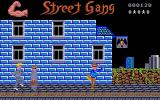Street Gang Atari ST Agents are shooting with pistols
