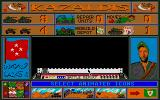 Tank Attack Atari ST Main control screen
