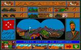 Tank Attack Atari ST Bombardment successful: enemy headquarter destroyed