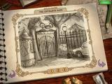 Weird Park: Broken Tune (Collector's Edition) Windows Collector's concept art - The Entrance Gate (1) Sketch