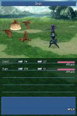 Final Fantasy IV Nintendo DS Another battle