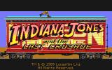 Indiana Jones and The Last Crusade: The Graphic Adventure Atari ST Title screen