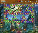 Bubble Witch Saga Browser This level has so many bubbles, it has to scroll.