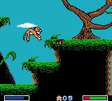 Disney's the Lion King: Simba's Mighty Adventure Game Boy Color Jump on bug