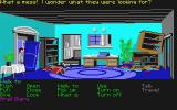 Indiana Jones and the Last Crusade: The Graphic Adventure Atari ST Indy at his father's house