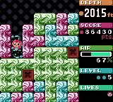 Mr. Driller Game Boy Color And next type of blocks