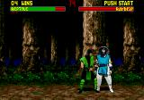 Mortal Kombat II Genesis Time to fatality... I don't remember combination
