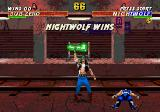 Mortal Kombat 3 Genesis Nightwolf wins
