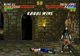 Mortal Kombat 3 Genesis Kabal wins