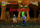 Mortal Kombat 3 Genesis Finish him!