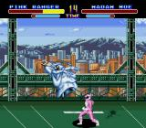 Mighty Morphin Power Rangers Genesis Pink wins!