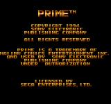Ultraverse Prime / Microcosm SEGA CD Copyright