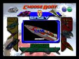Hydro Thunder Nintendo 64 Choose boat