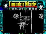 ThunderBlade ZX Spectrum Enemy tank