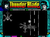 ThunderBlade ZX Spectrum Enemy helicopter