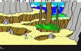 King's Quest III: To Heir is Human Atari ST Gwydion near the end of his quest