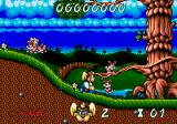 Wonder Dog SEGA CD Don't shoot the bunnies, they get angry.