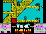 Bionic Commando ZX Spectrum Don't go higher