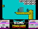 Bionic Commando ZX Spectrum Destroy this.