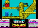 Bionic Commando ZX Spectrum Restore on parachute