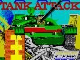 Tank Attack ZX Spectrum Title screen