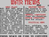 Tank Attack ZX Spectrum War news