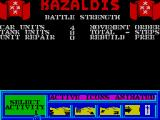 Tank Attack ZX Spectrum Battle strength