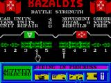 Tank Attack ZX Spectrum Select tanks