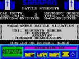 Tank Attack ZX Spectrum Battle situation