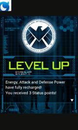 Marvel: War of Heroes Android Level up