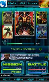 Marvel: War of Heroes Android The 'My page'