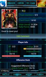 Marvel: War of Heroes Android Player stats