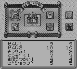 Wizardry: The First Episode - Suffering of the Queen Game Boy The city of Llylgamyn now has icons instead of text for locations