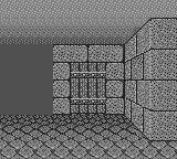 Wizardry: The First Episode - Suffering of the Queen Game Boy Inside the maze--most of the game is spent navigating it