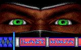The Last Ninja DOS Title screen