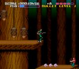 Time Slip SNES Wooden logs with spikes
