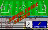Superleague Soccer Atari ST Title screen